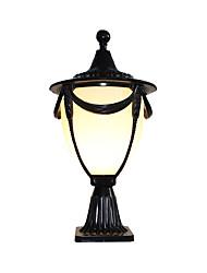 Недорогие -Водонепроницаемый Ретро Внешние настенные светильники На открытом воздухе / Сад Алюминий настенный светильник 110-120Вольт / 220-240Вольт