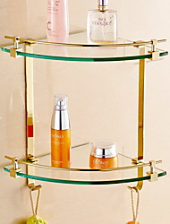 cheap -Bathroom Shelf Creative Contemporary Brass / Glasses 1pc - Bathroom Wall Mounted