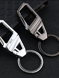 cheap -Personalized Customized Keychain Classic Gift Daily 1pcs Black Silver