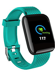 cheap -X9 PLUS Smartwatch iOS / Android Waterproof / Heart Rate Monitor / Blood Pressure Measurement Ambient light sensor Rubber / Alloy Black / Light Red / Light Green
