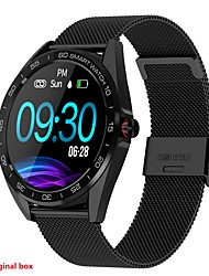 cheap -K7 Smart Watch BT Fitness Tracker Support Notify/ Heart Rate Monitor Sport Stainless Steel Bluetooth Smartwatch Compatible IOS/Android Phones