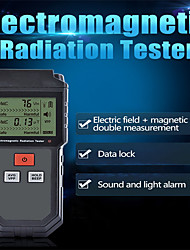 cheap -Electromagnetic Radiation Tester Portable Digital LCD Electric Magnetic Field EMF Meter Dosimeter Detector For Computer Phone