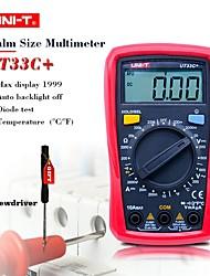 Недорогие -uni-t ut33c + цифровой мультиметр ручной цифровой дисплей с подсветкой для офиса и обучения