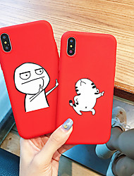 cheap -Case For Apple iPhone XS / iPhone XR / iPhone XS Max Dustproof / Pattern Back Cover Cartoon TPU