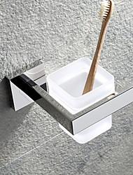 Недорогие -Держатель для зубных щеток Креатив Современный Нержавеющая сталь 1шт - Ванная комната На стену
