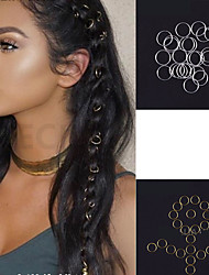 cheap -Hair Accessory / Tools & Accessories Ferroalloy / Eco-friendly Material / Iron Accessory Kits / Others Braiding Beads New Design / Best Quality 115 pcs Christmas / Daily Stylish / Artistic / Boho
