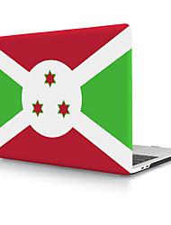Недорогие -твердая оболочка из пвх флаг Бурунди для MacBook Pro Air Retina чехол для телефона 11/12/13/15 (a1278-a1989)