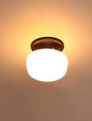 cheap -1-Light Minimalist Ceiling Light Flush Mount Lights Ambient Light Painted Finishes Metal
