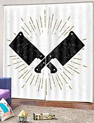 abordables -blackout luxe salon rideaux prêt à l'emploi moderne simple protection solaire tissu rideau insultation thermique épaississement fenêtre rideau