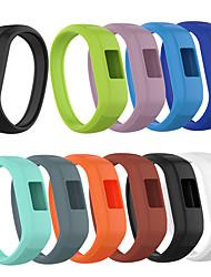 Недорогие -Ремешок для часов для Vivofit 3 / Garmin vívofit jr Garmin Спортивный ремешок силиконовый Повязка на запястье