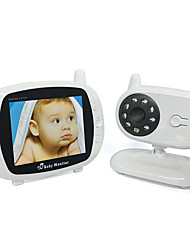 cheap -3.5 inch wireless digital baby monitor night vision lullaby room temperature monitoring two-way intercom