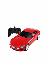 cheap -1:24 Toy Car Music Car Race Car Bus Remote Control / RC Parent-Child Interaction Plastic & Metal Plastic Shell All