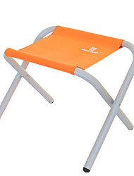 cheap -Camping Stool Portable Anti-Slip Foldable Comfortable Aluminum Alloy for 1 person Camping Camping / Hiking / Caving Traveling Picnic Autumn / Fall Spring Orange Coffee