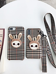 cheap -Case For Apple iPhone XS / iPhone XR / iPhone XS Max Dustproof / Pattern Back Cover Animal / Cartoon PU Leather