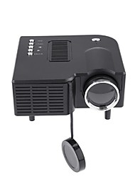 cheap -UC28 Universal 400 Lumens HD 400Lumens Multimedia LED Homehold Projector Support 60 Inch Large Screen Projection