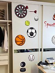 Недорогие -спортивный мяч съемный стикер на стену декоративное творчество