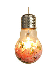 cheap -1-Light Modern Bulb Simulation Blossom LED Pendant Lighting Creative Bedroom Pendant Light Fixture Adjustable 1 Light Bulb Included Ceiling Lamp