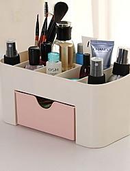Недорогие -Место хранения организация Косметологический макияж пластик Квадратная Творчество / Оригинальные