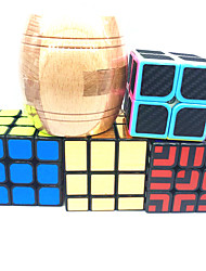 cheap -Speed Cube Set 5 pcs Magic Cube IQ Cube 2*2*2 3*3*3 Magic Cube Puzzle Cube Rotatable Office Desk Toys Teenager Adults' Toy Gift