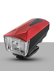 cheap -Bike Light Front Bike Light Bike Horn Light Bicycle Cycling Super Brightest Portable Warning Durable Lithium 360 lm Rechargeable White Everyday Use Cycling / Bike / ABS