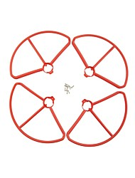 cheap -MJX B2C B2W Bugs 2 4 PCS Propeller Guards RC Quadcopters RC Quadcopters ABS+PC Easy to Install / Durable