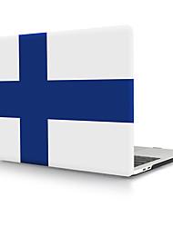 Недорогие -Твердый переплет из ПВХ, Финляндия, для MacBook Pro Air Retina чехол для телефона 11/12/13/15 (a1278-a1989)
