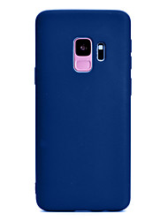 cheap -for Samsung S9 plus Lovely Candy Color Matte TPU Anti-scratch Non-slip Protective Cover Back Case