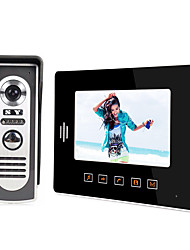 cheap -LITBest 808M11 Wired Built in out Speaker 7 inch Hands-free 800*480 Pixel One to One video doorphone