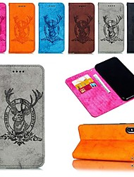 cheap -Case For Apple iPhone XR / iPhone XS Max Magnetic / Flip / with Stand Full Body Cases Animal Hard Canvas for iPhone 6s / 6s Plus / iPhone 7 / 7 Plus / iPhone 8 / 8 Plus / iPhone X/ iPhone XS