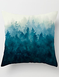 cheap -1 pcs Velvet Pillow Cover, Botanical 3D Print Traditional Fashion Throw Pillow