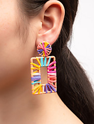 cheap -Women's Drop Earrings Hollow Out Ball Natural Colorful Cool Earrings Jewelry Rainbow For Party Gift Work 1 Pair