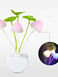 cheap -LED Decorative Night Light Staycation Mushrooms and Plants Design Nursery Night Light Adorable Creative DC Powered