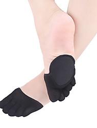 abordables -1 paire Femme Chaussettes Couleur Pleine Leg Shaping Style Simple Mélange de Coton EU36-EU42
