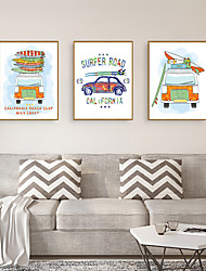 cheap -Framed Art Print Framed Set - Still Life Cartoon PS Illustration Wall Art
