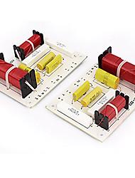 Недорогие -2 шт. 180 Вт высокое качество аудио автомобильный кроссовер фильтры частоты динамик делителя