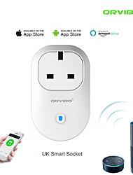 Недорогие -Smart Plug ORS25-UK для Гостиная / Изучение / Спальня Контроль APP / Функция синхронизации / Smart WIFI 2.4G 110-220 V