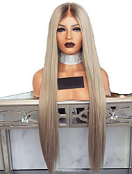cheap -Synthetic Wig Natural Straight Layered Haircut Wig Very Long Grey Synthetic Hair 72~76 inch Women's New Arrival Dark Gray
