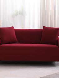abordables -2019 nouvelle couleur unie de haute qualité housse de canapé stretch canapé housse super doux tissu rétro vente chaude housse de canapé