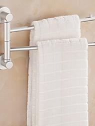 cheap -Towel Bar Creative Modern Aluminum 1pc - Bathroom Double Wall Mounted