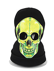 cheap -Halloween Scary Skeleton Skull Balaclavas Ghost Death Cosplay Costume Headwear Headgear Horror Prank Face Mask