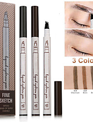 cheap -Fashion tattoo eyebrow pencil waterproof and sweatproof three liquid eyebrow pencil