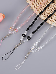 cheap -Lanyard StrapCrystal Neck Strap for Cellphones Phone Cases Cameras KeysCrystal Cellphone Necklaces