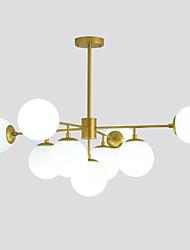 Недорогие -ZHISHU 9-Light 100 cm LED / Управление WIFI Люстры и лампы Металл Стекло Шары Окрашенные отделки LED / Традиционный / классический 110-120Вольт / 220-240Вольт