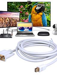abordables -câble mini dp vers vga mini displayport (adaptateur thunderbolt 2) vers vga compatible avec la surface du moniteur mackbook pro / air imac dell