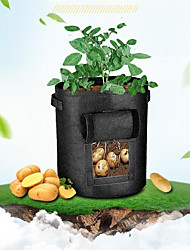 cheap -Eco-Friendly Garden Planter Bag Plant Tub with Access Flap for Harvesting Growing Vegetables