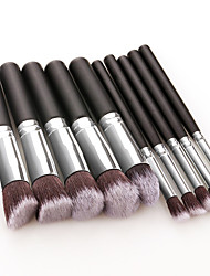 cheap -Professional Makeup Brushes 10pcs Soft Full Coverage Lovely Comfy Wooden / Bamboo for Makeup Set Makeup Tools Makeup Brushes Blush Brush Foundation Brush Makeup Brush Eyeshadow Brush
