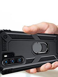 cheap -Luxury Armor Soft Shockproof Case On The For Huawei P30 Pro P30 Lite P30 Silicone Car Holder Ring Case