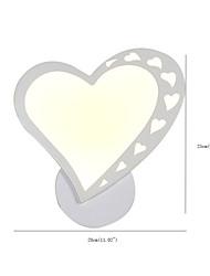 Недорогие -светодиодные настенные бра очаровательны / новый дизайн современный современный / светодиодный скрытого монтажа настенные светильники для интерьера / детские металлические настенные светильники
