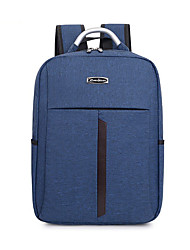 cheap -Large Capacity Polyester Nylon Zipper School Bag Color Block Daily Black / Blue / Gray