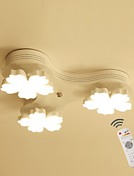 cheap -LED Chandelier Flush Mount Lights Ambient Light Painted Finishes Metal LED Dimmable Dimmable With Remote Control
